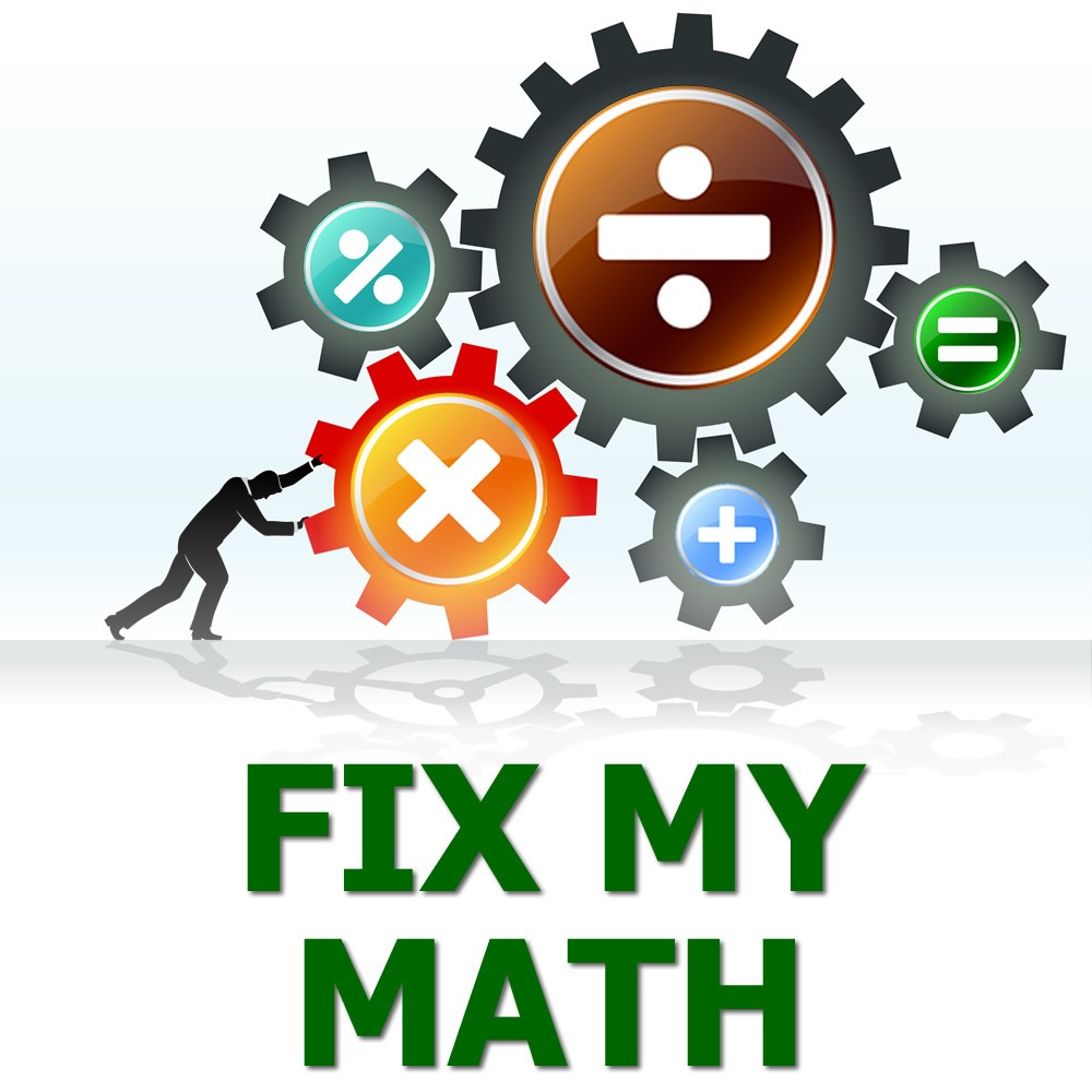 Fix My Math Book – Fix My Math – Shop